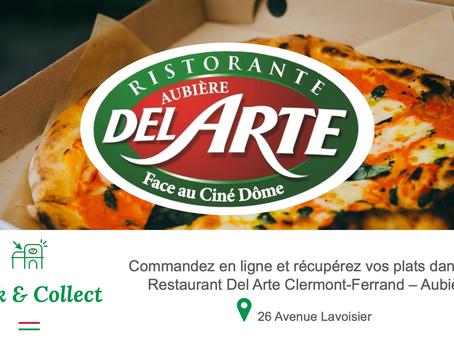 """Le HBCM soutien son partenaire """"Ristorante DelArte""""."""