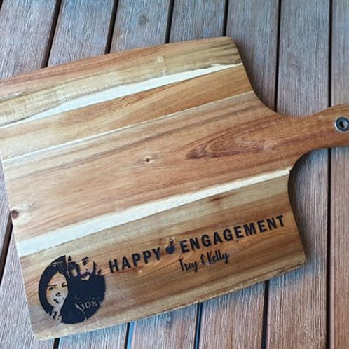 Personalised Happy Engagement Board with photo