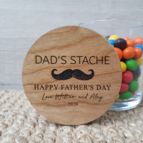 Personalised Father's Day Jar