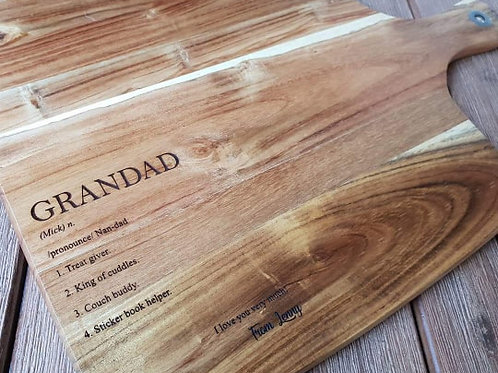 Personalised Dictionary Board