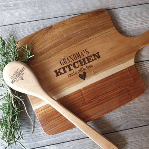 Personalised Grandma's Kitchen Board