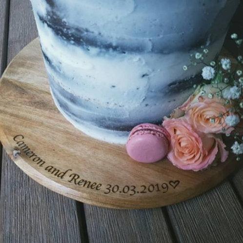 Personalised Cake Board