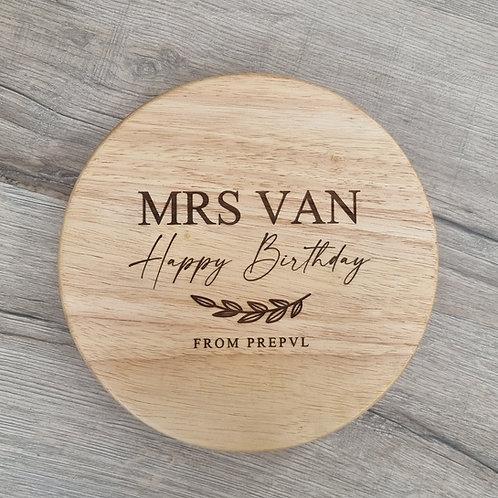 Personalised Happy Birthday Board