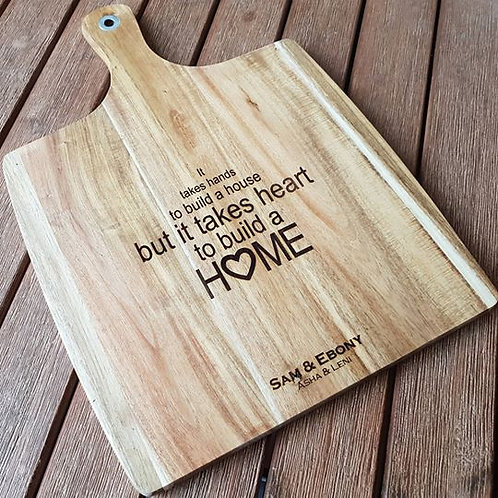 Personalised Home Board