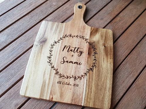 Personalised Wreath Board