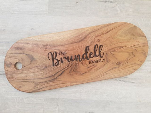 Personalised Family Name Board #2