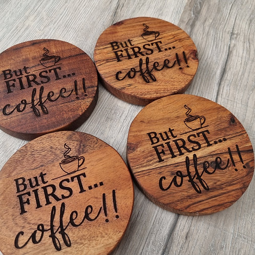 But First...Coffee!!! Coasters