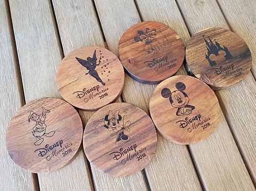 Personalised Disney Coasters