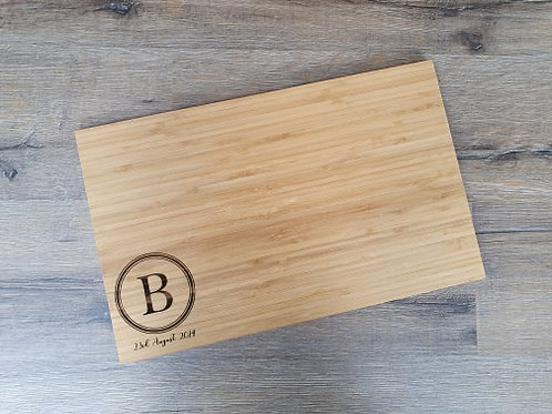 Personalised Classic Circle Board