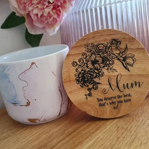 Personalised Mum Trinket Jar