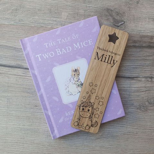Personalised Children's Bookmark