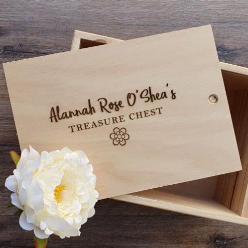 Treasure Chest/Box Keepsake Box