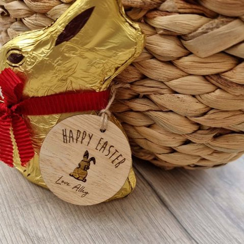 Personalised Easter Gift Tag