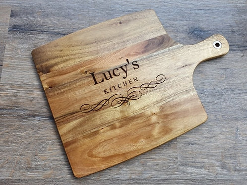 Personalised Kitchen Board