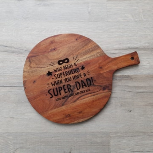Personalised Super Dad Board