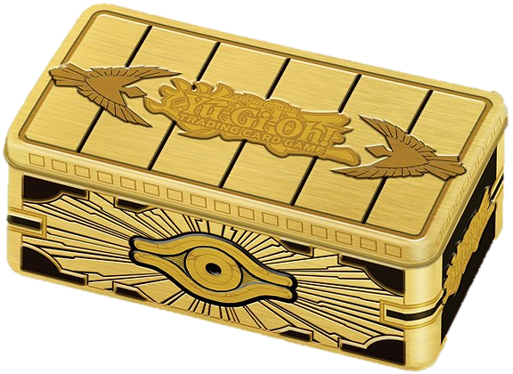 Cofre de Oro Sellado Ingles Tin Yu-Gi-Oh! 2019