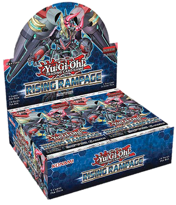 Display de sobres Ingles Yu-Gi-Oh! Rising Rampage