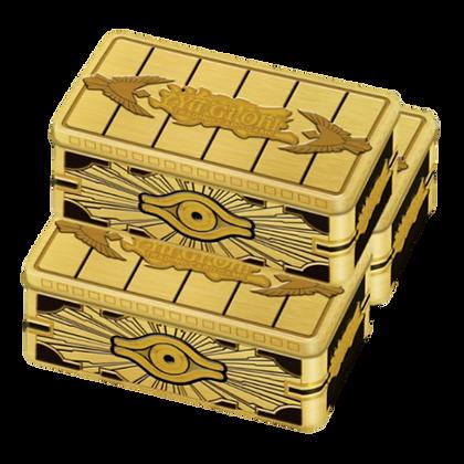 3 Cofre de Oro Sellado Tin Yu-Gi-Oh! 2019