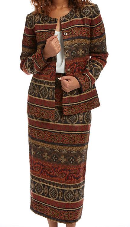 2pc Jacquard Ladies Suit