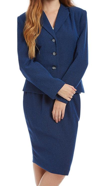 2pc Boucle Ladies Career Suit