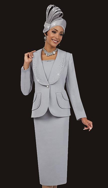 3pc PeachSkin Skirt Suit