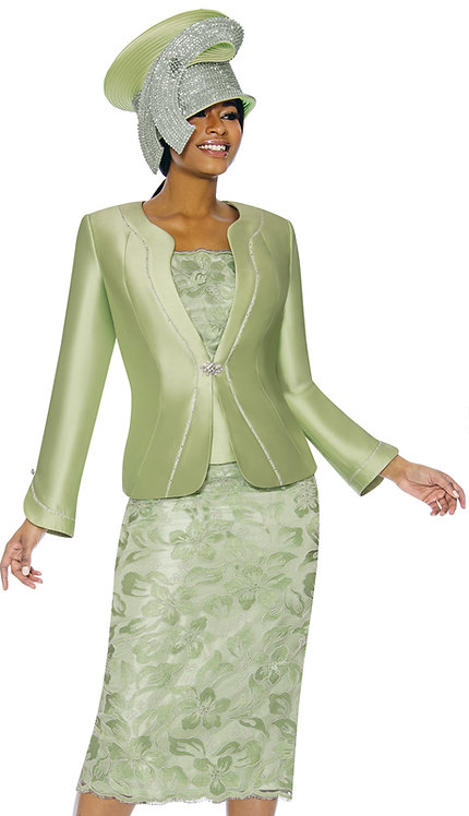 3pc Silk With Novelty Womens Suit