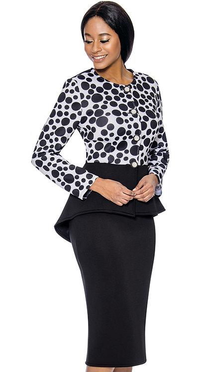 2pc Scuba Knit Womens Sunday Suit