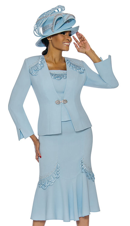 3pc PeackSkin Womens Church Suit
