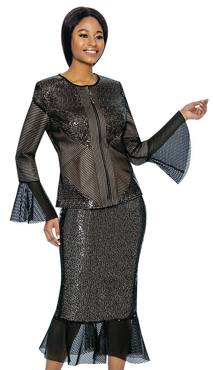 2pc Novelty Womens Suit For Church