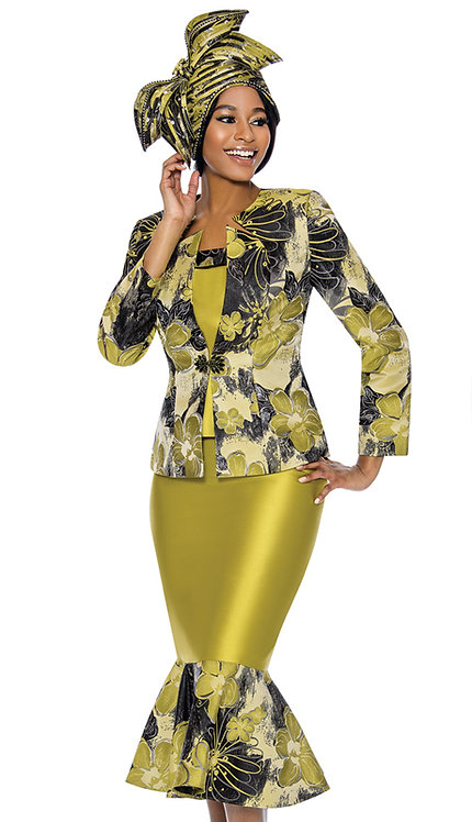 3pc Novelty Suit Printed Design