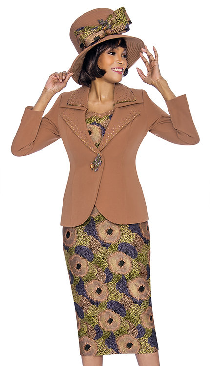 3pc PeachSkin With Novelty Suit