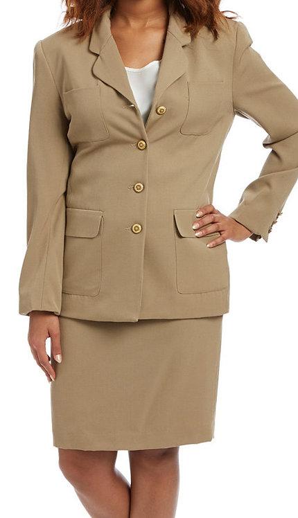 2pc Wool Ladies Career Suit