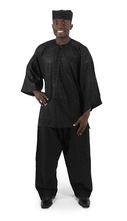 2pc Mens Luxury Pant Set With Kufi Hat