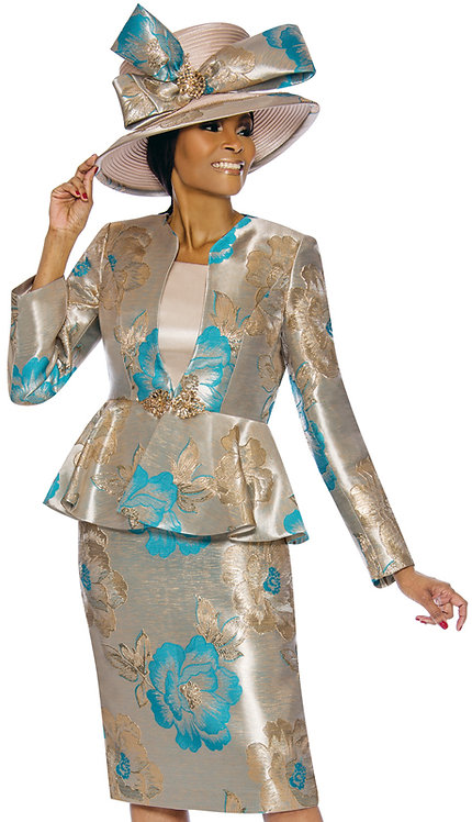3pc Novelty Womens Sunday Suit