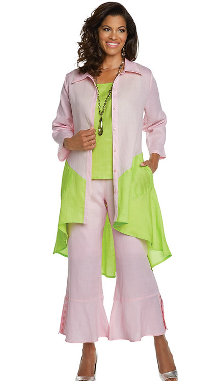 3pc Jacket, Cami And Pant Set
