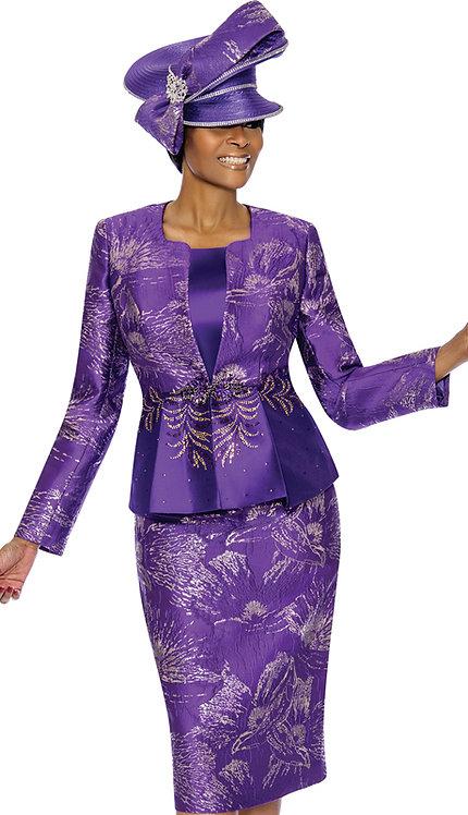 3pc Brocade Womens Church Suit