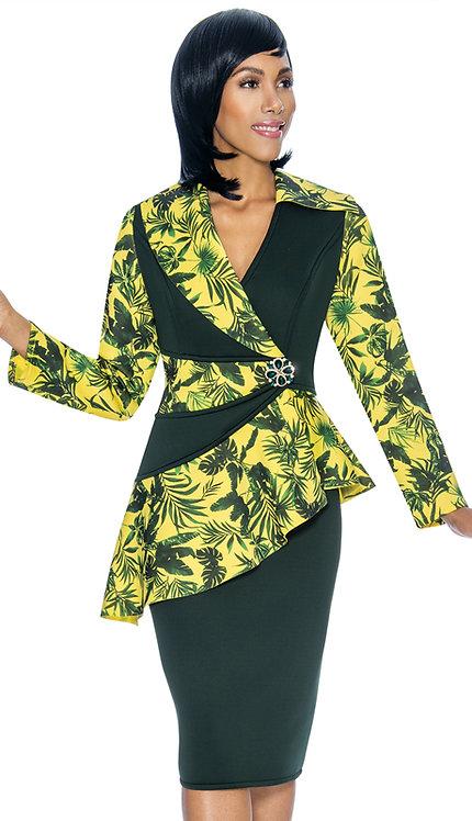 2pc Scuba Knit First Lady Suit