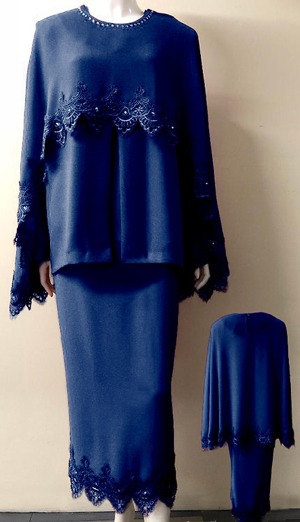 3pc Fully Lined Georgette