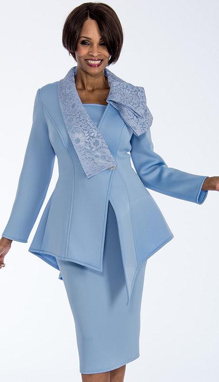 2pc Scuba Knit Ladies Sunday Suit