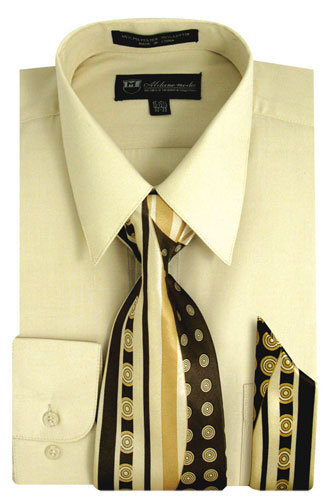 Matching Tie And Hanky Set