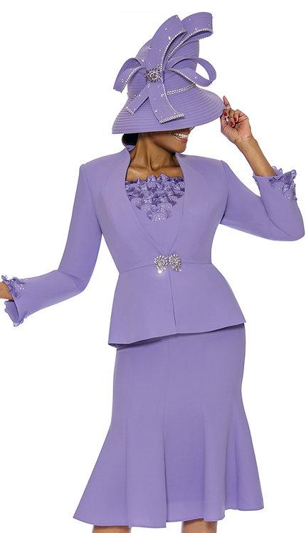3pc PeachSkin Womens Church Suit