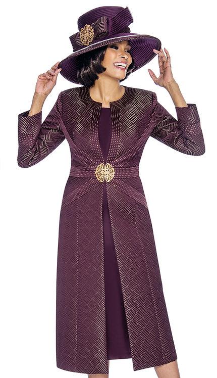 2pc Brocade Ladies Church Dress