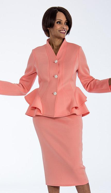 2pc Scuba Knit Ladies Suit