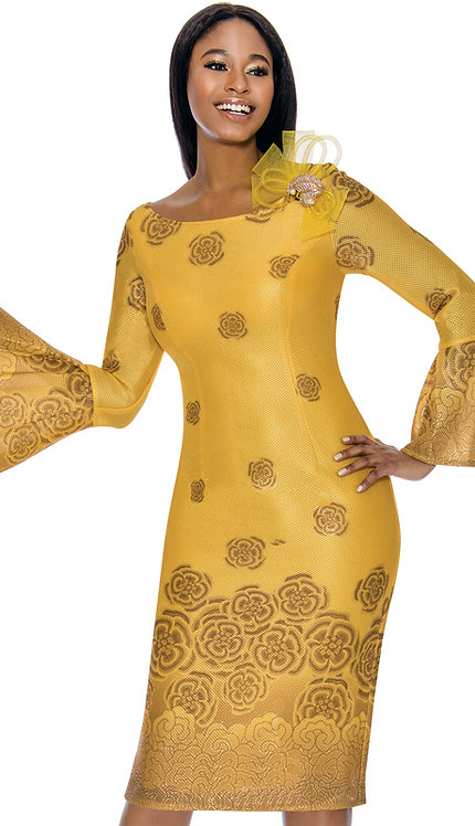 1pc Novelty Ladies Printed Dress
