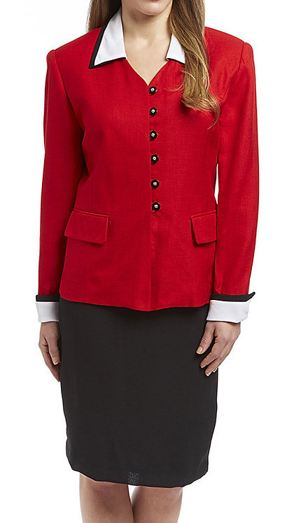 2pc Rayon Career Suit
