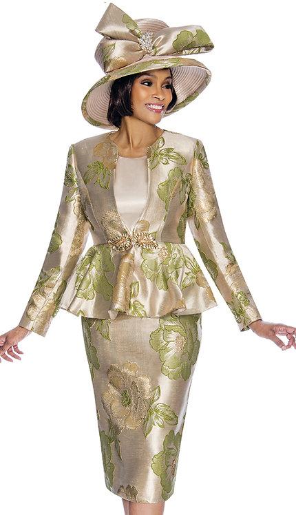 3pc Novelty Womens Sunday Suit