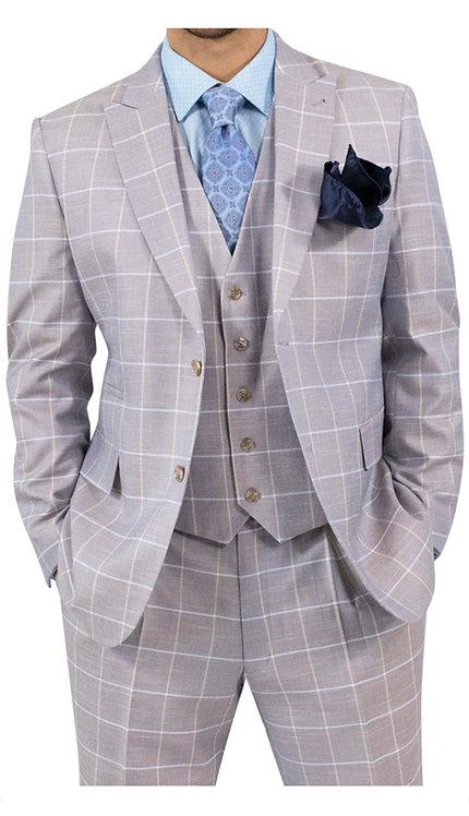 3pc Vested Suit