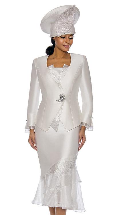 3pc Silk Womens Church Suit