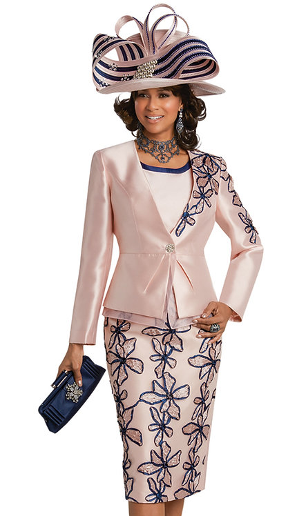 3pc Silk Ladies Suit