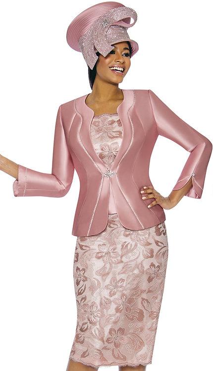 3pc Silk Novelty Womens Sunday Suit